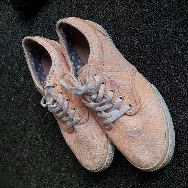 Pink And White Speckled Vans