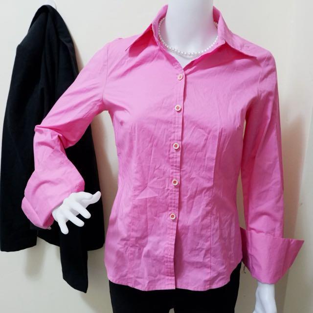 Pink Formal Long Sleeve