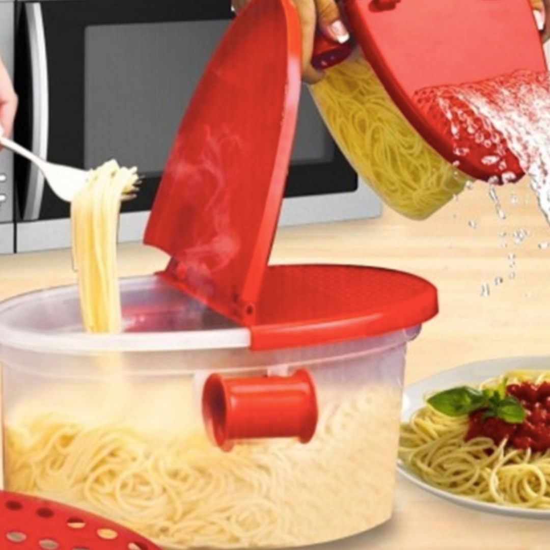 🔶 IN STOCKS 🔶 Microwave Pasta Boat with Free Steamer Rack, Home ...