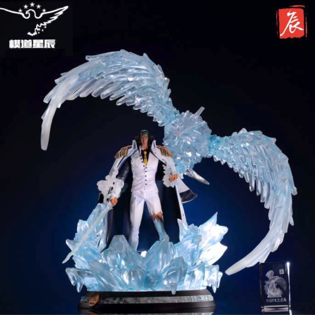 [PO] One Piece Model Stars Marine Admiral Aokiji Kuzan Resin Statue