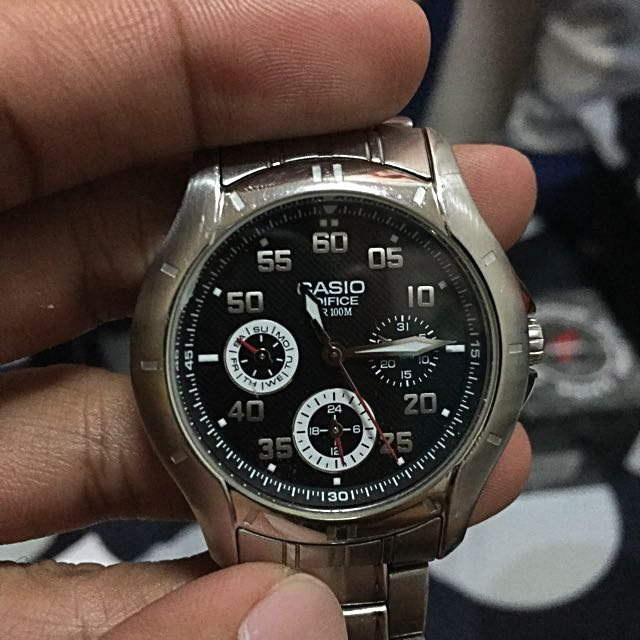 Preloved CASIO Edifice Stainless Steel Formal Watch