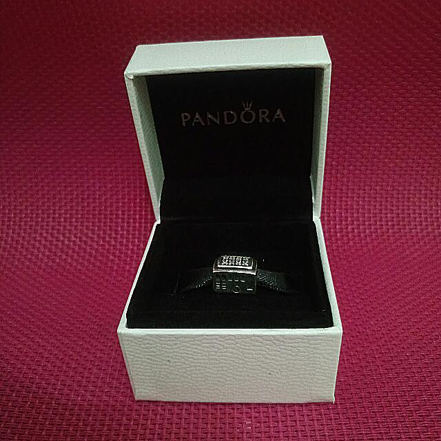 Pre-owned PANDORA Train Charm