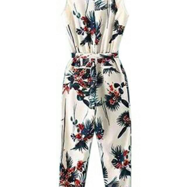 Printed Jumpsuit💕