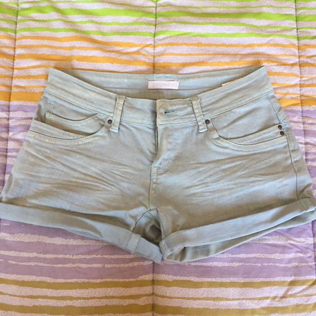Promod Light Blue Shorts