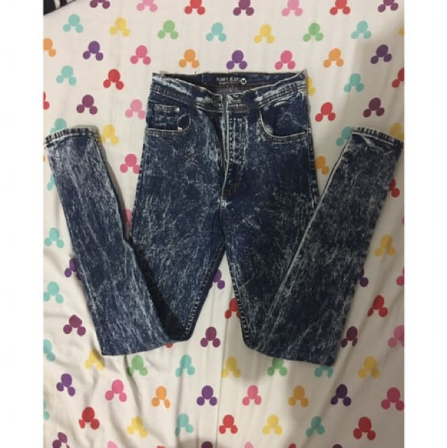 punny jeans size m