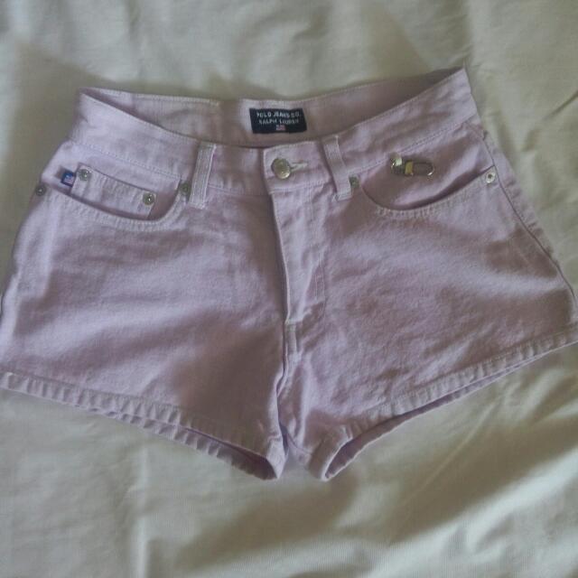 Ralph Lauren Purple Shorts