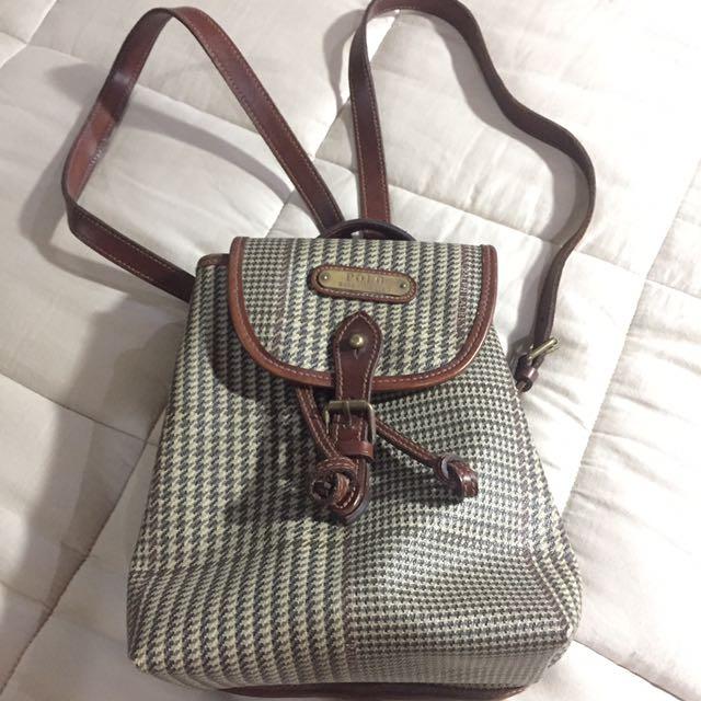 Ralph Lauren Small Backpack