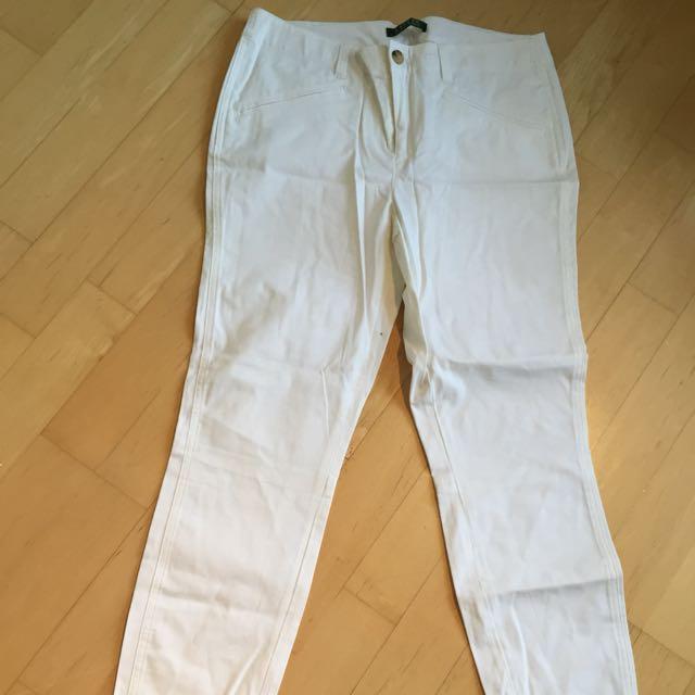 Ralph Lauren White Pants (size 8)