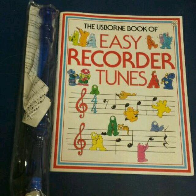Recorder + Book + Cleaner