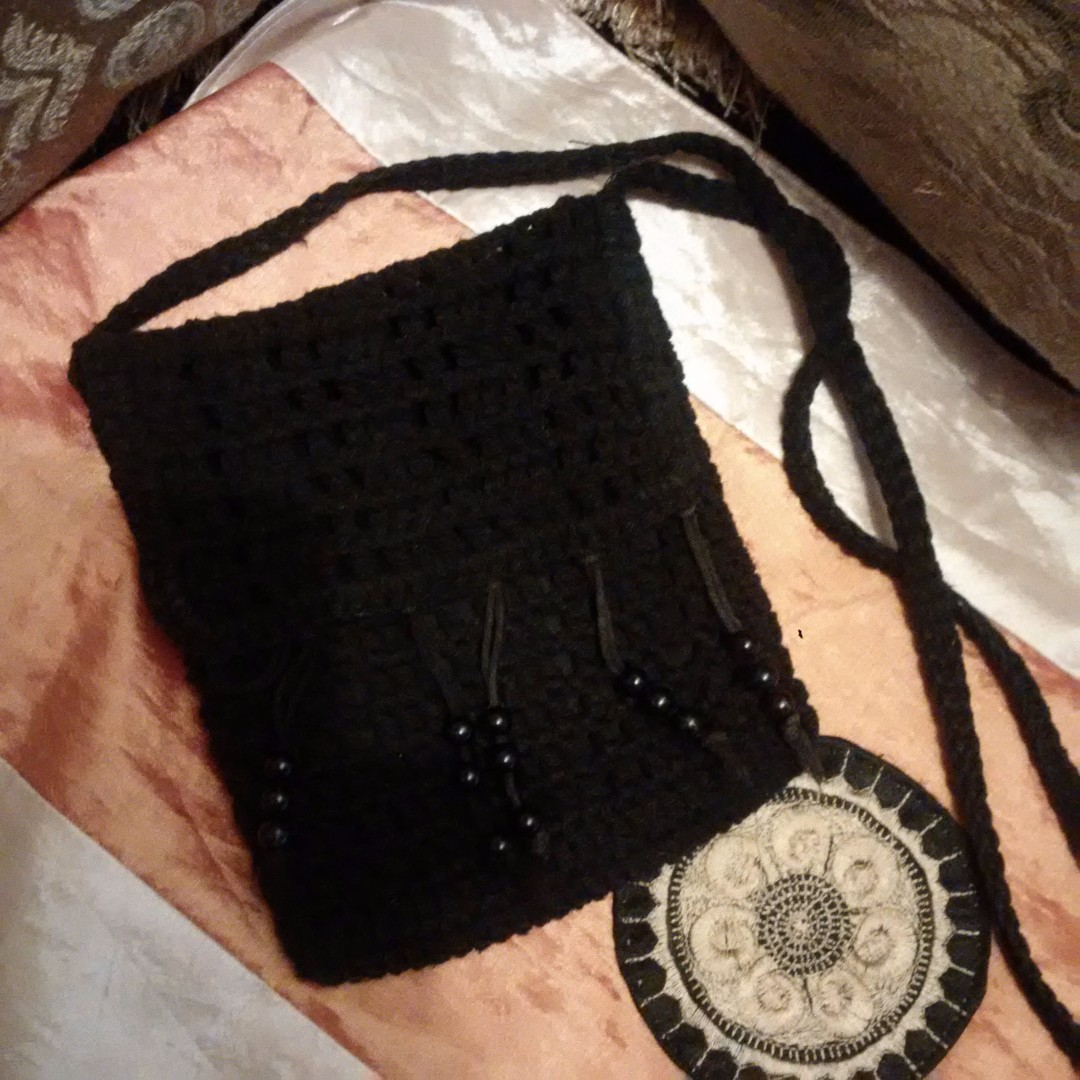 REPRICED TWICE: Knitted Sling bag