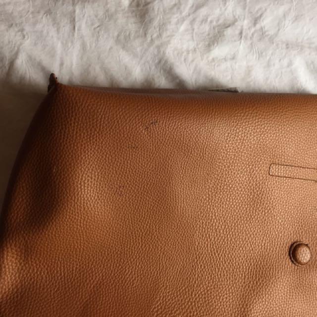 Reversible Black-Brown Bag