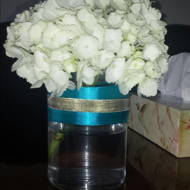 Set Of 9 Vases