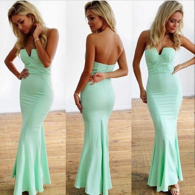 Sheike Aqua Mermaid Dress