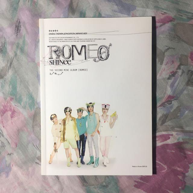 SHINee Romeo Mini Album (Jonghyun)