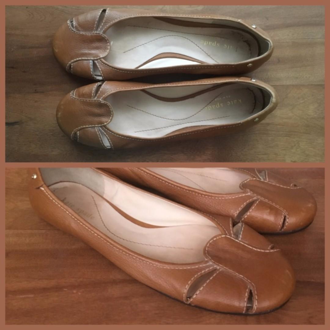 Size 7.5 - Kate Spade flats