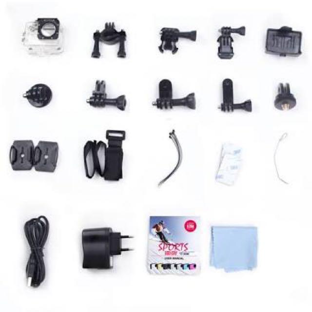 [REPRICED]SJCAM SJ400 Accessories