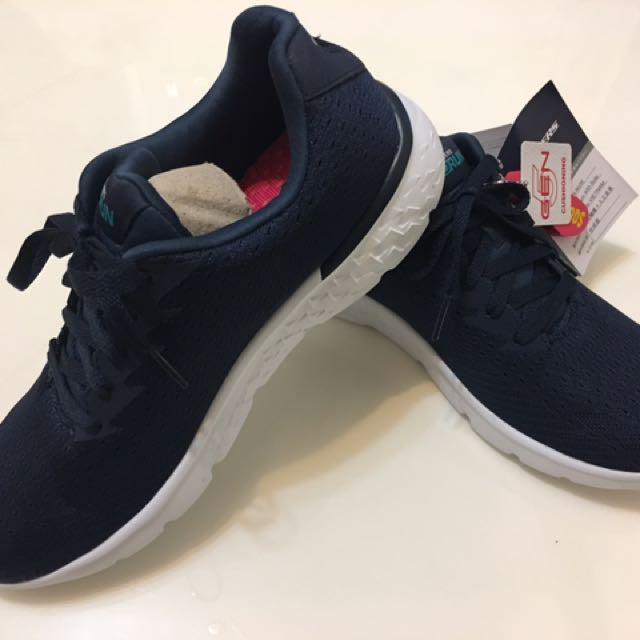 SKECHERS 跑步系列 藍色25號
