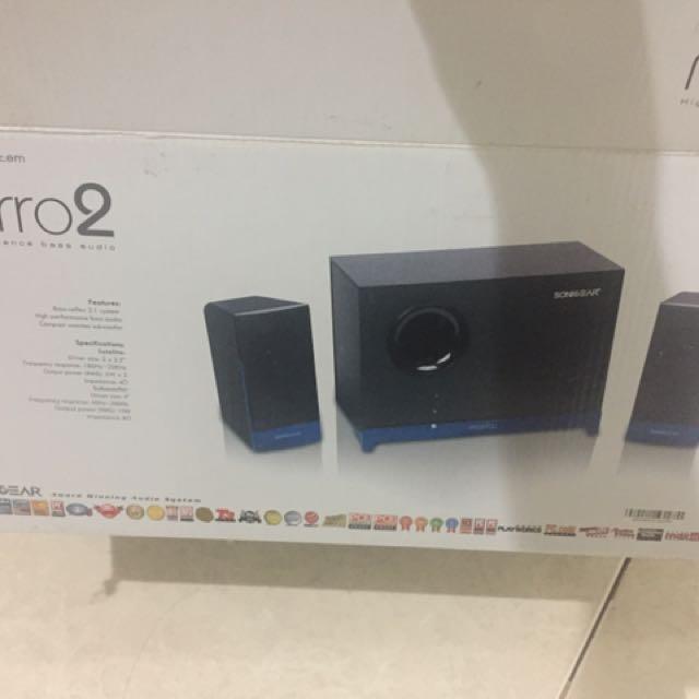 Speaker Sonicgear Morro2