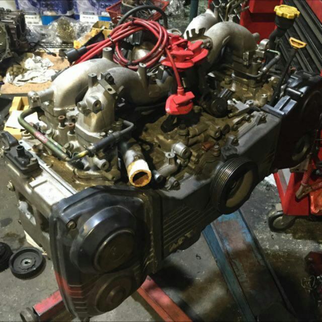 Subaru Ej25 Engine