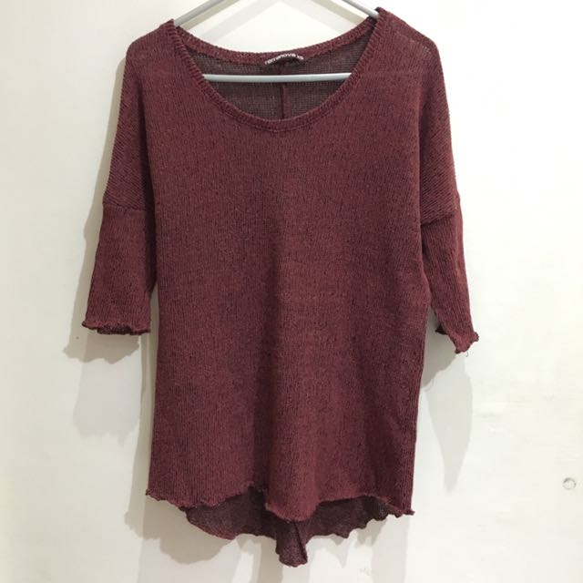 Terranova Red Sweater
