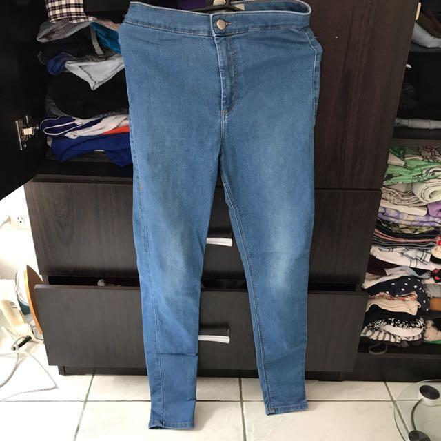 Topshop High Waist Pants
