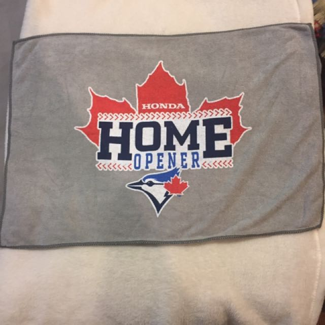 Towel From Blue Jays Home Opener