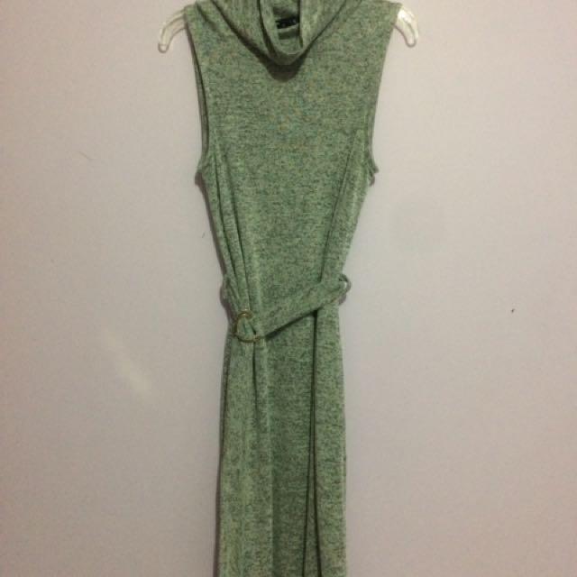 Urban Behaviour Knit Turtle Neck Dress