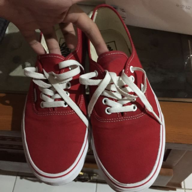 a4f5d2fa0a Vans Authentic Red ORIGINAL
