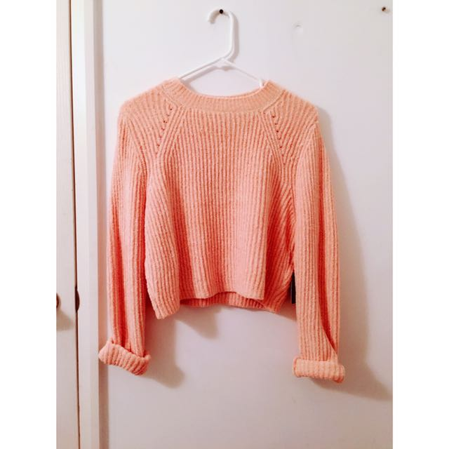 Velvety SUPER COMFY crop Sweater