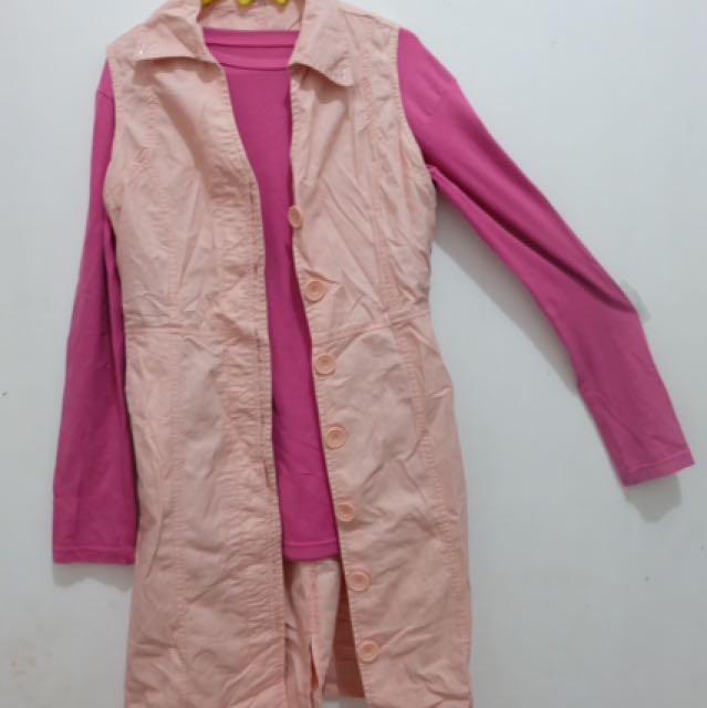 Vest Outer Pink