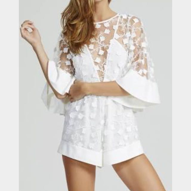 White lace Playsuit 6