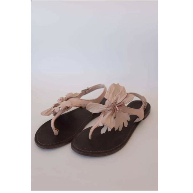 Wittner Leather Flower Sandals Boho