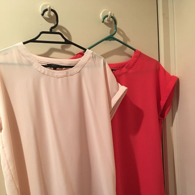 Work Tops Size S - Never Worn $5 Each