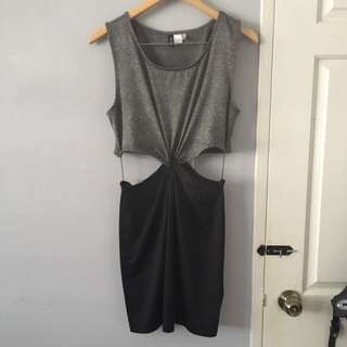 Cut Out Dress size L