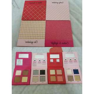 Eyeshadow/blush/shading Sephora 4pc