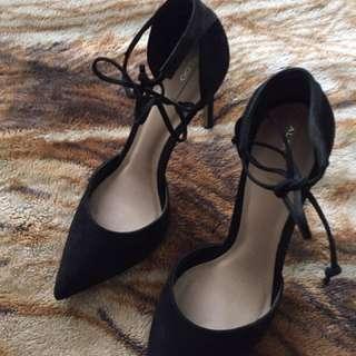 Aldo wrap heels