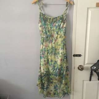 High Low Dress Size L