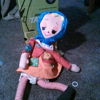 1964 Talking Tatters doll by Mattel