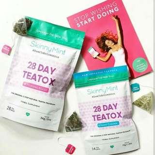 SkinnyMint 28 Day Teatox Slimming Tea