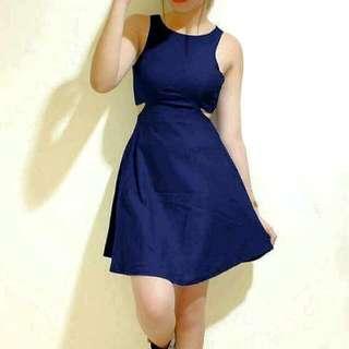 Blue Sexy Dress 🌸