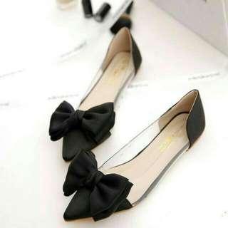 Flatshoes Ta02 Merah .