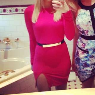Missguided Red Dress