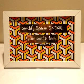 Framed Scripture