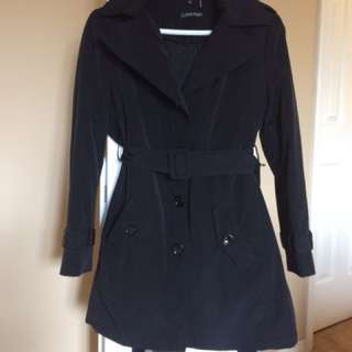 Calvein Klein Black Trench coat