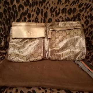 Gucci Gold Belt Bag