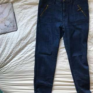 Wrangler Skinny High Top Jeans