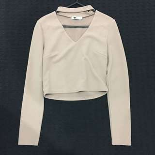 Size 8 Peach Top From Tempt