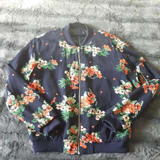 Spring Floral Jacket From Zara