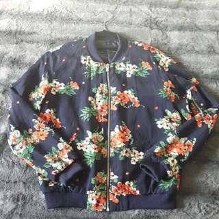 Spring Floral Jacket From Zara