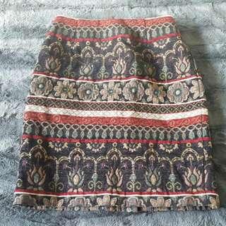 Floral Italian Skirt